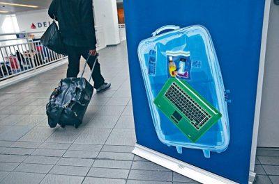 美管制八国航班旅客 禁携大型电子装置上机 为期七个月 英拟跟随